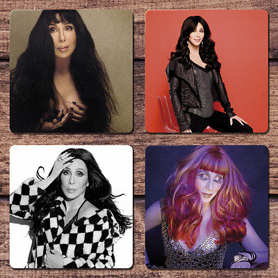 Cher Coaster Set NEW Dressed to Kill D2K Woman's World Closer to the Truth
