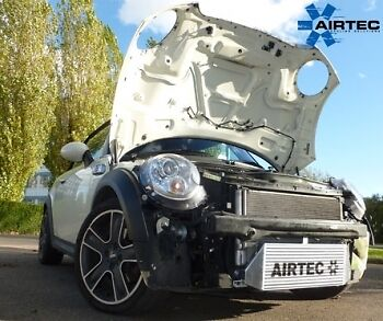 AIRTEC Mini Cooper-S R56 Uprated Front Mount Intercooler FMIC