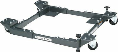 Shop Fox D2057A Adjustable Mobile Base, Small, New, Free Shipping