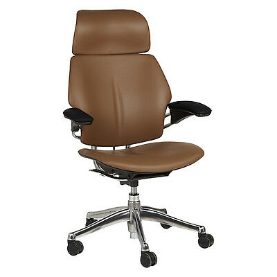 Humanscale Freedom Office Chair with Headrest Tan/Brown NEW & SEALED