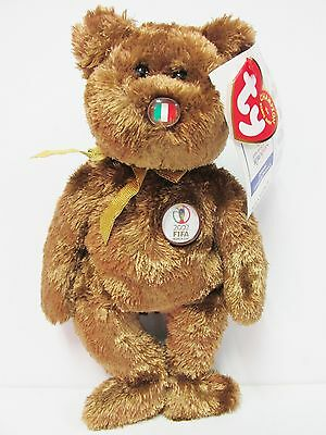 """Ty Beanie Baby /""""Argentina/"""" the World Cup Champion Bear Brand New w//Mint Tags"""