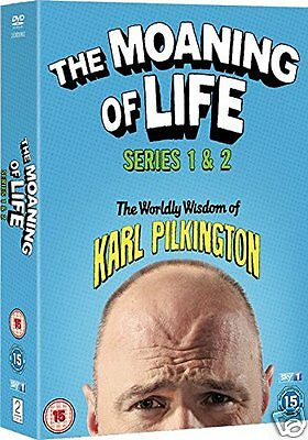 The Moaning of Life: Series 1 + 2 (SKY, DVD)~~~~Karl Pilkington~~~~NEW & SEALED