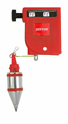 MAGNETIC PLUMB BOB HEAVY DUTY 400g Builders Drop Line Straight Level Setter