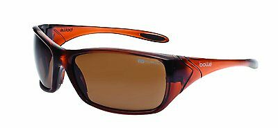 Bolle Safety Glasses - Voodoo Polarised Sunglasses Brown Lens Eye Protection