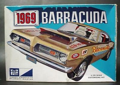 mpc 1969 plymouth barracuda kit