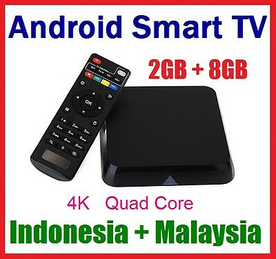 Indonesia & Malaysia IPTV Android Smart TV Box with (one year free)