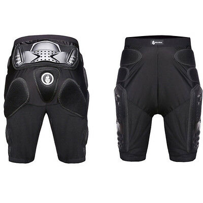 Motorcycle Motocross Racing Ski Armor Sports Hips Legs Protective Shorts Pants