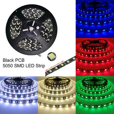 2× 50cm 30LEDs 5050 SMD Waterproof LED Strip Underbody Light For Car Motorcycle