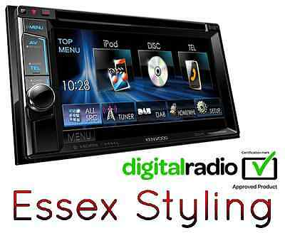 Kenwood DDX5015DAB Double Din Car Stereo  iPod iPhone DAB MP3 AUX USB