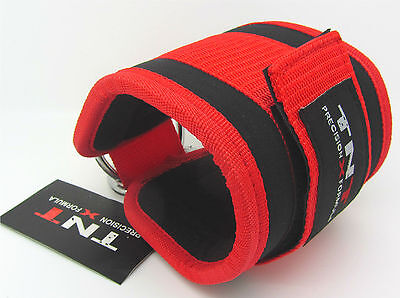 GYM ANKLE Strap Cable Attachment For Multi Gym Machine Sold Single RED