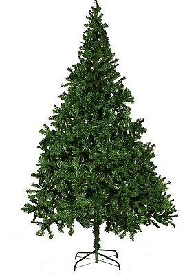 New Traditional Christmas Tree Xmas Decoration 210 cm Green Extra Thick Branches