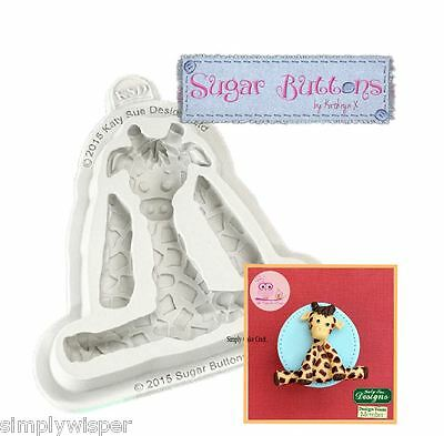 Katy Sue Design Giraffe Decoration Cake Crafting Silicone Mould Sugarcraft