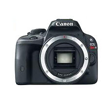 Canon EOS Rebel SL1 /EOS 100D 18.0 MP Digital SLR Camera-Black (Body Only)-FedEX