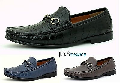 Mens Designer Loafers Slip On Casual Fashion Shoes Smart Driving Moccasin JAS