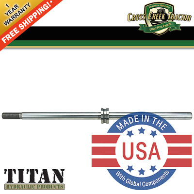 E3NN3A747AA NEW Ford Tractor Steering Cylinder Shaft for 5610, 6610, 7610, 7810+