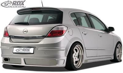 RDX rear bumper extension OPEL Astra H 4/5 doors