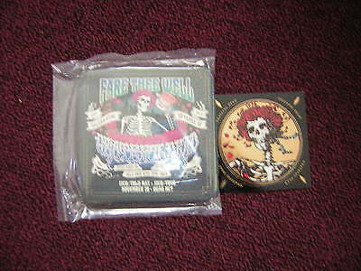 Grateful Dead Promo Coasters And Stick 2015 Jerry Garcia Bob Weir