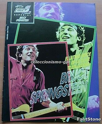 ESPECIAL POPULAR 1 BRUCE SPRINGSTEEN Exclusive Magazine 1985 No Poster