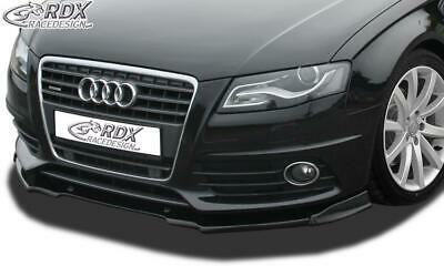 RDX Front Spoiler AUDI A4 B8/B81 (S-Line- and S4-Frontbumper)