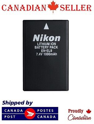 Brand New EN-EL9 Camera Battery For Nikon D5000 D3000 D60 D40x D40