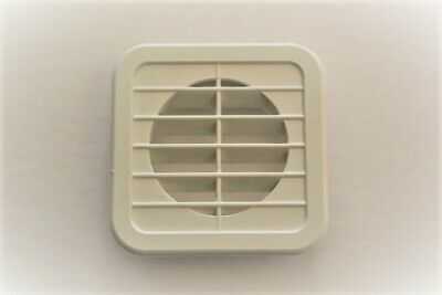 2 inch White Plastic Square Under Cabinet Air Vent 2 Pack, Home / RV / Anywhere