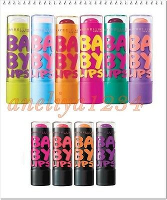 Maybelline New York BABY LIPS Electro Lip Balm - 8hr Hydration, FREE UK DELIVERY