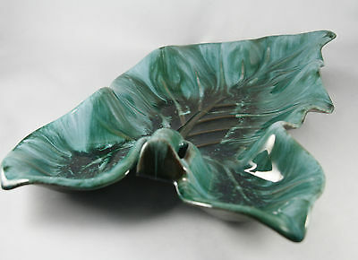 Blue Mountain Pottery BMP Serving Dish Leaf Shaped