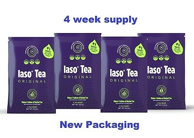 Iaso Tea (4 Week Supply) TOTAL LIFE CHANGES Organic Diet Weight Loss  Ships Free