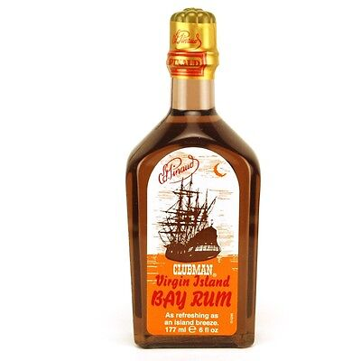 Pinaud Clubman -  Bay rum AFTER SHAVE/ BODY TONIC 177ML