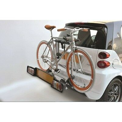 Portabici Posteriore Peruzzo Smart Rack Delux 2 Bici Specifico Per Smart