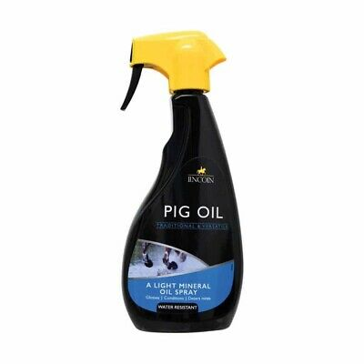 Lincoln Pig Oil Spray 500ml - Horse and Pony Grooming