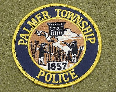 34054) Patch Vintage Palmer Township Pennsylvania Police Sheriffs Older Insignia