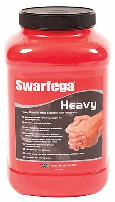 Deb swarfega heavy duty 4.5lt gel polygrain hand cleaner tub jar SWASHD45L 4.5l