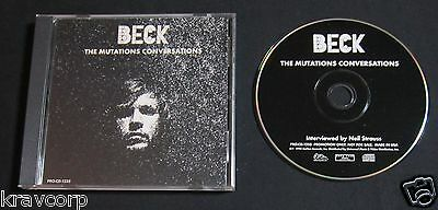 Beck 'The Mutations Conversations' 1998 Promo Cd--Interview