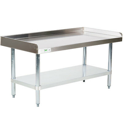 """30"""" x 48"""" NSF Stainless Steel Commercial Kitchen Equipment Stand"""