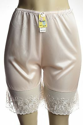 "Short 19"" Length Women Lace Mini Pettipants Slip Bloomer Size S M L XL 2XL  996"