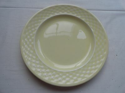 """W S George """"basketweave"""" Bread And Butter Plates - Beautiful"""