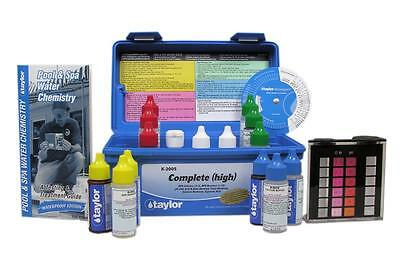 Taylo Professional Complete Pool & Spa Water Test Kit High Range K-2005