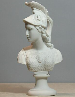Athene Goddess of Wisdom Athena Minerva Bust Cast Marble Statue Sculpture 9.84΄΄