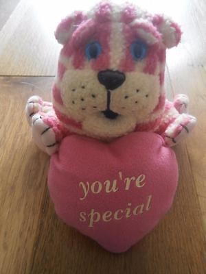 """Cute Bagpuss Soft Toy with heart 'You're Special' 6"""" plus tail g15"""