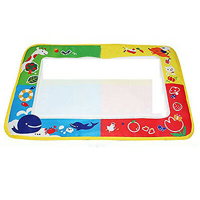 Baby 4 color Water Drawing Toys Mat Magic Pen Water Drawing Board BF
