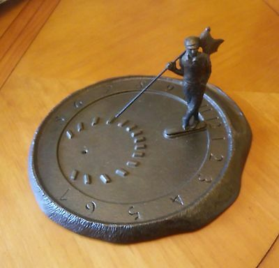 Sundial- WHITEHALL GOLFER - French Bronze