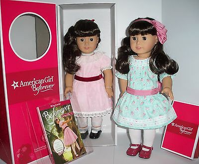 American Girl Doll Samantha  Plus Special Day Dress Set - One Doll Two Outfits