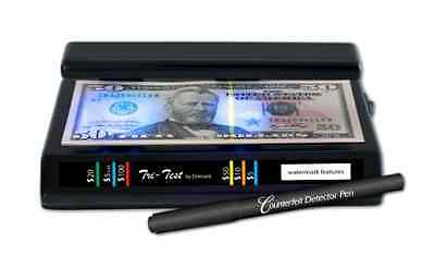 Counterfeit Money Detector UV Portable Bill Pen Currency Fake Dollar Tool Test .