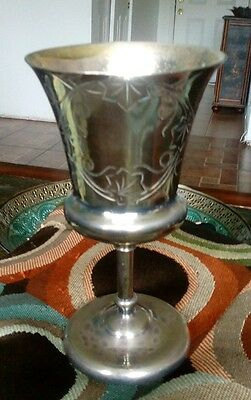 Lucius Hart M.F.G. CO. Triple Plated Silver Goblet