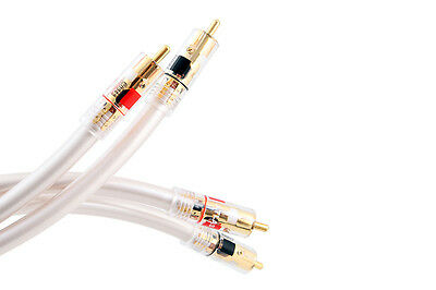1m Atlas Equator Series MK3 Stereo RCA Interconnect with ABS Plugs