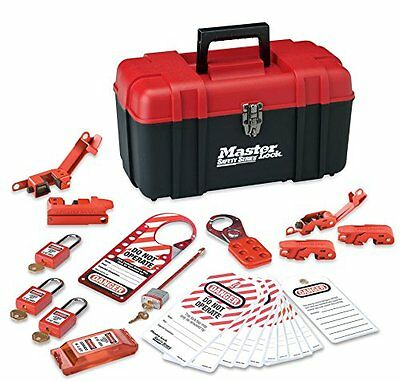 Master Lock 1457E410KA Electrical Personal Lockout Kit, New, Free Shipping