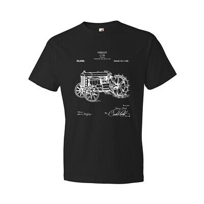 Ford Tractor Shirt Farmer Gift Tractor Blueprint Agriculture Farm Equipment