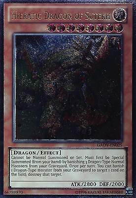YU-GI-OH - GALACTIC OVERLORD - ULTIMATE + ULTRA Rare - TOP MINT GAOV-EN- ENGLISH