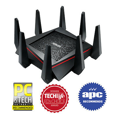 ASUS RT-AC5300 Wireless WIFI AC5300 Tri-Band Gigabit Router MU-MIMO Home Network